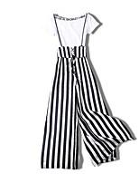 cheap -Miss French Women's Polo - Striped Pant