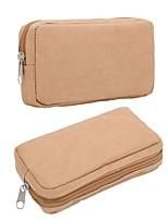 cheap -Unisex Bags Paper Wallet Zipper Coffee / Dark Brown