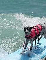 abordables -Roedores / Perros / Conejos Chaleco salvavidas Ropa para Perro Simple / Otros Fucsia / Verde / Azul 100% Poliéster Disfraz Para mascotas Mujer Deportes y Exterior / Alta calidad