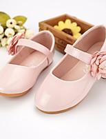 Недорогие -Девочки Обувь Полиуретан Весна & осень Удобная обувь / Детская праздничная обувь На плокой подошве для Белый / Розовый