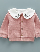 cheap -Toddler Girls' Basic Solid Colored Long Sleeve Cotton Suit & Blazer