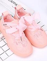 Недорогие -Девочки Обувь Сетка Весна & осень Удобная обувь Кеды для Белый / Розовый
