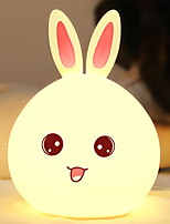 cheap -1pc LED Night Light Color-changing USB Cartoon / Cute <5 V