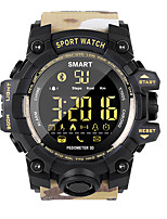 cheap -EX16S camouflage style outdoor sports waterproof smart watch Bluetooth remote control camera long standby