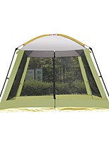 cheap -8 person Family Tent Single Layered Poled Camping Tent Outdoor Rain-Proof, Wearable, Breathability for Camping / Hiking / Caving / Picnic 2000-3000 mm Terylene 310*310*210 cm