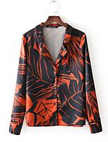 cheap -women's going out / work shirt - geometric shirt collar