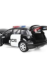 Недорогие -Игрушечные машинки Полицейская машинка Транспорт Вид на город Cool утонченный Металл Для подростков Все Мальчики Девочки Игрушки Подарок 1 pcs