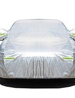 abordables -Cobertura completa Cubiertas de coche Algodón / Película de aluminio Reflexivo / Antirrobo / Barra de advertencia For Ford Focus Todos los Años For Todas las Temporadas