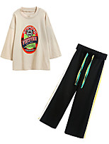 cheap -Women's Going out Set - Letter Pant