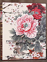 baratos -Albúns de fotografias Florais / Botânicos / Série de amigos Casual Rectângular Para a Casa