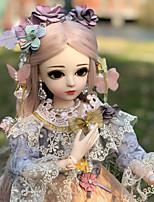 Недорогие -Doris Кукла с шаром / Блайт Кукла Девочки 20 дюймовый Полный силикон для тела - Высокотемпературные резистивные парики Детские Девочки Подарок