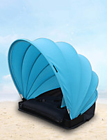 cheap -1 person Beach Tent Single Layered Automatic Camping Tent Outdoor Lightweight, Windproof, Breathability for Beach <1000 mm Lycra Spandex 50*50*50 cm