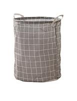 Недорогие -Ткань Круглый Геометрический узор Главная организация, 1шт Корзины для хранения