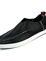 cheap -Men's Cowhide Fall Comfort Loafers & Slip-Ons Black / Brown / Blue
