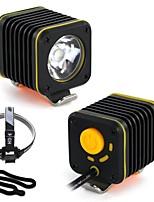 abordables -Lampe Avant de Vélo LED Cyclisme Portable / Imperméable Batterie au lithium 1200 lm Lumens Camping / Randonnée / Spéléologie / Cyclisme