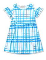 Недорогие -Дети / Дети (1-4 лет) Девочки Полоски С короткими рукавами Платье