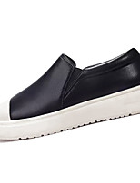 cheap -Men's PU(Polyurethane) Spring Comfort Loafers & Slip-Ons Black
