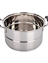 cheap -Cookware Stainless Steel Round Cookware 1 pcs