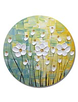 economico -Hang-Dipinto ad olio Dipinta a mano - Floreale / Botanical Contemporaneo / Modern Tela