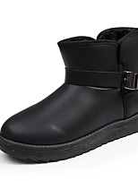 cheap -Men's Snow Boots PU(Polyurethane) Winter Boots Black / Brown