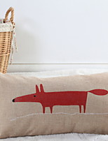 cheap -1 pcs Cotton / Linen Pillow, Animal Animals