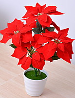 cheap -Artificial Flowers 1 Branch Classic Stylish Plants Tabletop Flower