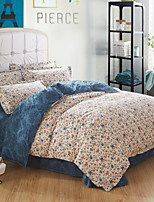 cheap -Duvet Cover Sets Geometric Polyster Reactive Print 4 Piece