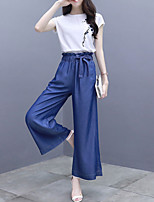 cheap -Women's Polo - Solid Colored Pant