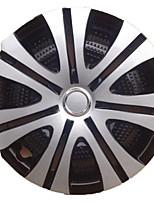 abordables -1 Pieza Tapa del eje 13 pulgadas Negocios El plastico Cubiertas de ruedaForUniversal Todos los Años
