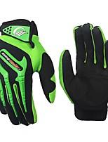 baratos -RidingTribe Dedo Total Unisexo Motos luvas PVC (Polyvinylchlorid) / Microfibra / Elastano Licra Respirável / Profissional