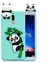 billiga -fodral Till Huawei Mate 10 lite / Mate 10 GDS (Gör det själv) Skal Panda Mjukt TPU för Mate 10 / Mate 10 lite