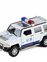 Недорогие -Игрушечные машинки Полицейская машинка Автомобиль Новый дизайн Металлический сплав Все Детские / Для подростков Подарок 1 pcs