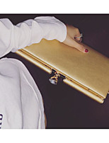 cheap -Women's Bags PU(Polyurethane) Shoulder Bag Solid Gold / Black / Red