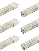 cheap -6pcs 9 W 800 lm G12 LED Bi-pin Lights 108 LED Beads SMD 2835 Warm White / Cold White 85-265 V