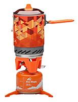 Недорогие -Fire-Maple Набор походной посуды / Походная горелка Сумка для спорта и отдыха С защитой от ветра / Легкость Алюминий / Резиновый силикон / Нержавеющая сталь На открытом воздухе для