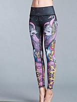 cheap -Women's Daily Sporty Legging - Geometric Mid Waist