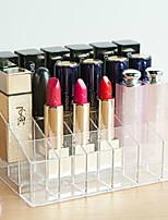abordables -Cosmético / Maquillaje Organizador El plastico Almacenamiento y Organización Múltiples Funciones Cuadrado 1pc