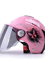 economico -YEMA 310 Mezzo casco Adulto Per uomo Casco del motociclo Anti-UV