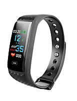 cheap -Smartwatch CK17S for Android 4.3 and above / iOS 7 and above Heart Rate Monitor / Waterproof / Blood Pressure Measurement / Long Standby / Touch Screen Pedometer / Sleep Tracker / Sedentary Reminder