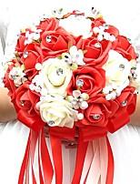 """baratos -Bouquets de Noiva Buquês Casamento / Ocasião Especial Poliéster / Espuma 7.87""""(Aprox.20cm)"""