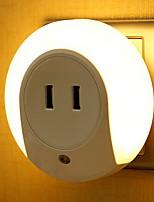 preiswerte -1pc LED-Nachtlicht Warmes Weiß Neues Design 220-240 V