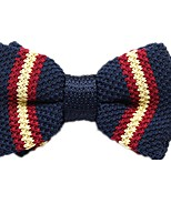 cheap -Unisex Party / Basic Bow Tie - Striped / Color Block / Patchwork Bow