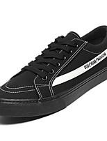 cheap -Men's Cotton Spring Comfort Sneakers Black / Black / White / White / Green