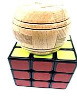 economico -cubo di Rubik 6 pezzi WMS L'artigianato in legno / Giocattolo USB / Scramble Cube / Floppy Cube 3*3*3 Cubo Cubi Cubo a puzzle Scuola / Stress e ansia di soccorso / sintetico Regalo Tutti