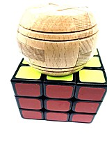 preiswerte -Zauberwürfel 6 Stücke WMS Holz-Handwerk USB Spielzeug Scramble-Würfel / Floppy-Würfel 3*3*3 Glatte Geschwindigkeits-Würfel Magische Würfel Puzzle-Würfel Schule Stress und Angst Relief Synthetik Teen