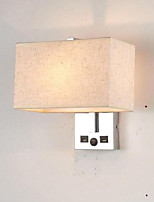 Недорогие -Новый дизайн Модерн Настенные светильники Спальня / Кабинет / Офис Металл настенный светильник 85-265V 40 W