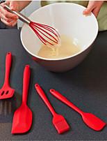 Недорогие -5шт силиконовый выпечка печенья набор для приготовления пищи кухонный инструмент для приготовления теста для теста