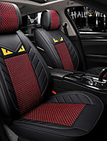 cheap -ODEER Car Seat Covers Seat Covers Black / Red Textile Common for universal All years All Models