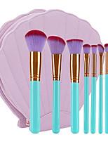 Недорогие -10 в комплекте Кисти для макияжа профессиональный Наборы кистей Нейлоновое волокно Экологичные / Мягкость Пластик