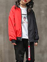 cheap -Kids Girls' Geometric Long Sleeve Jacket & Coat